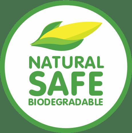 Natural Safe Biodegradable