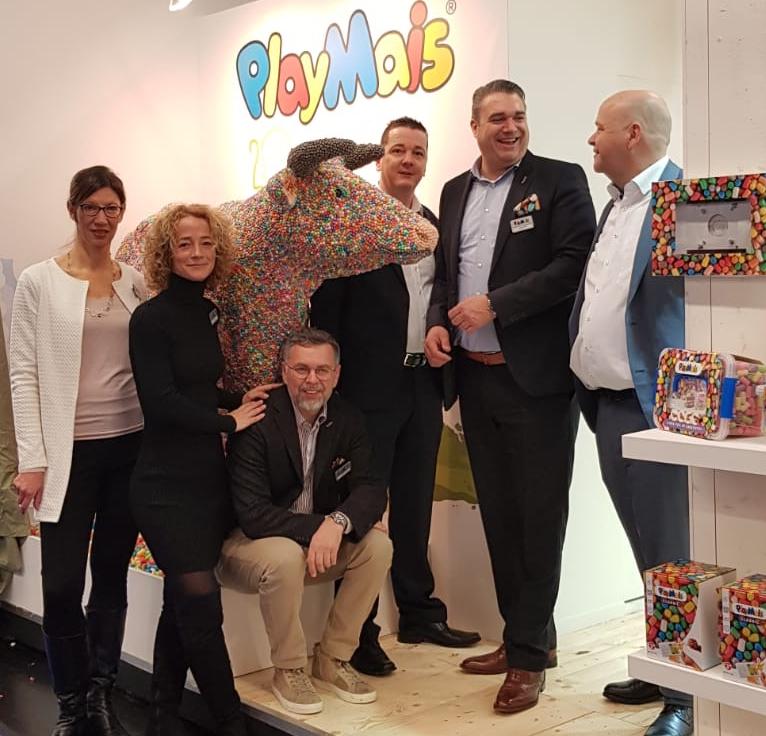 Zu Gast auf der Internationalen Spielwarenmesse in Nürnberg 2019.