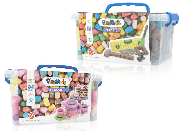 "PlayMais Collector Box ""Toolbox"" und ""Cup & Cake"""
