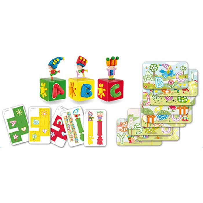 PlayMais Card Set ABC