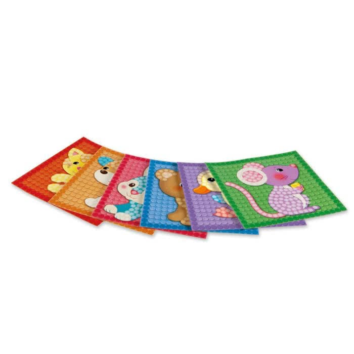 PlayMais Card Set Little Friends