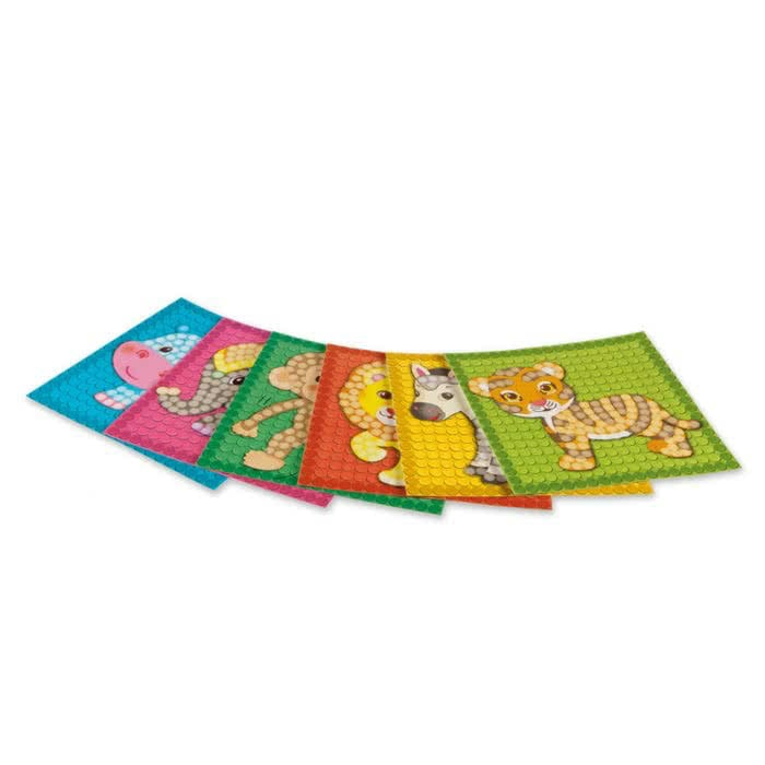 PlayMais Card Set Little Zoo